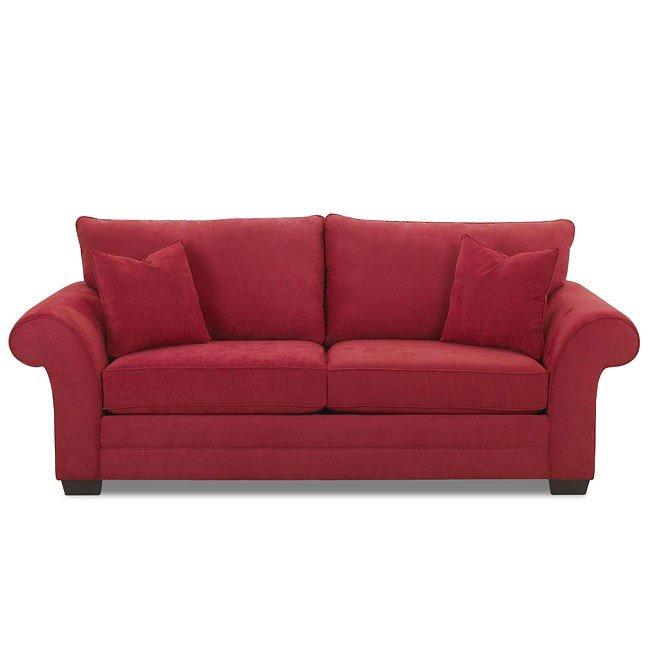 Beau Holly Sofa (Blaze Red)