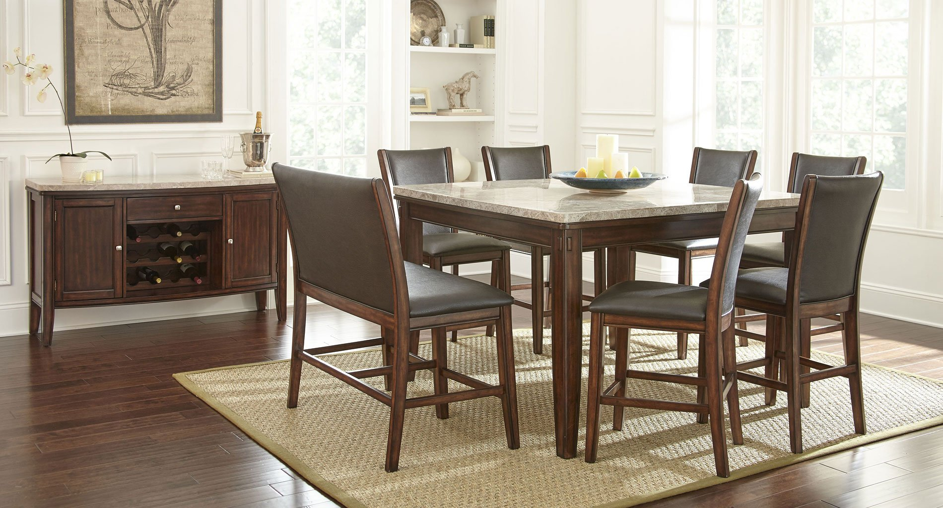 Eileen Counter Height Dining Room Set