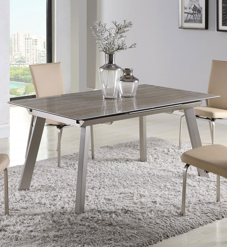 Eleanor Dining Table Chintaly Imports Furniture Cart