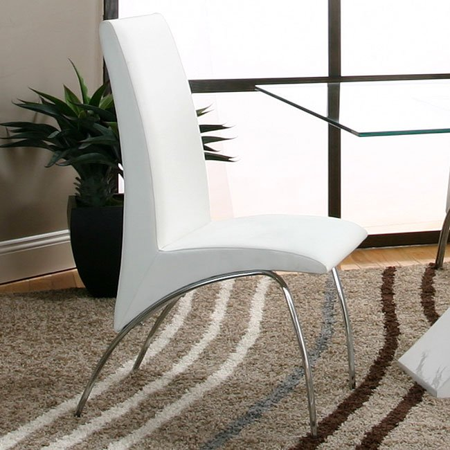 Mensa White Side Chair (Set of 4)