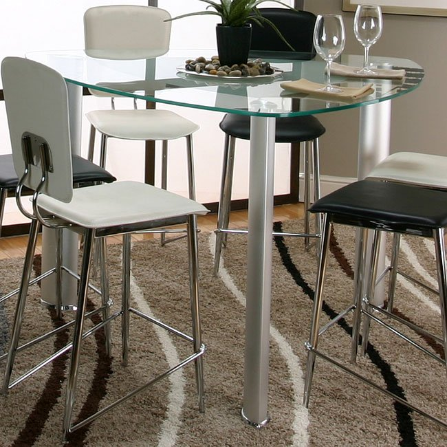 Sirius Triangle Counter Height Dining Table Cramco Furniture Cart