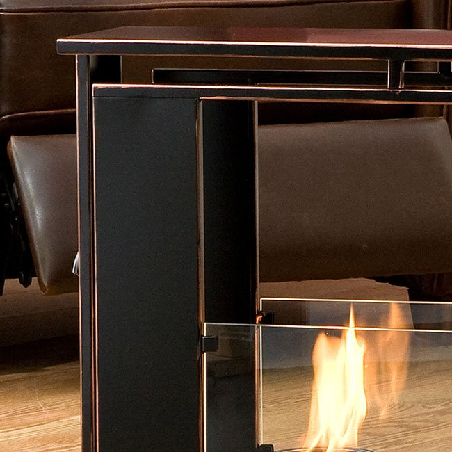 Portable Indoor Outdoor Gel Fuel Fireplace Southern Enterprises