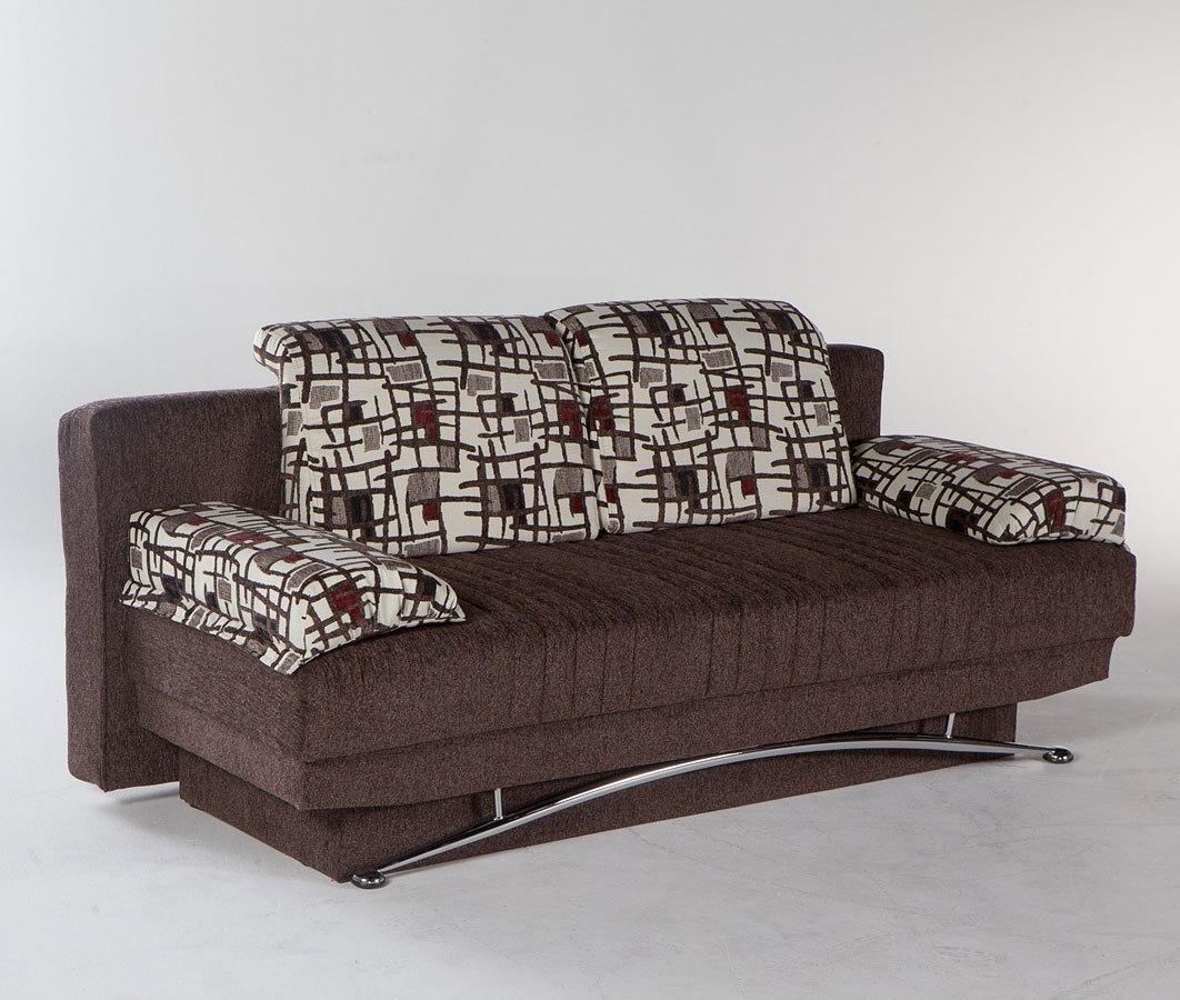 Fantasy 3 Seat Sleeper Aristo Burgundy Istikbal