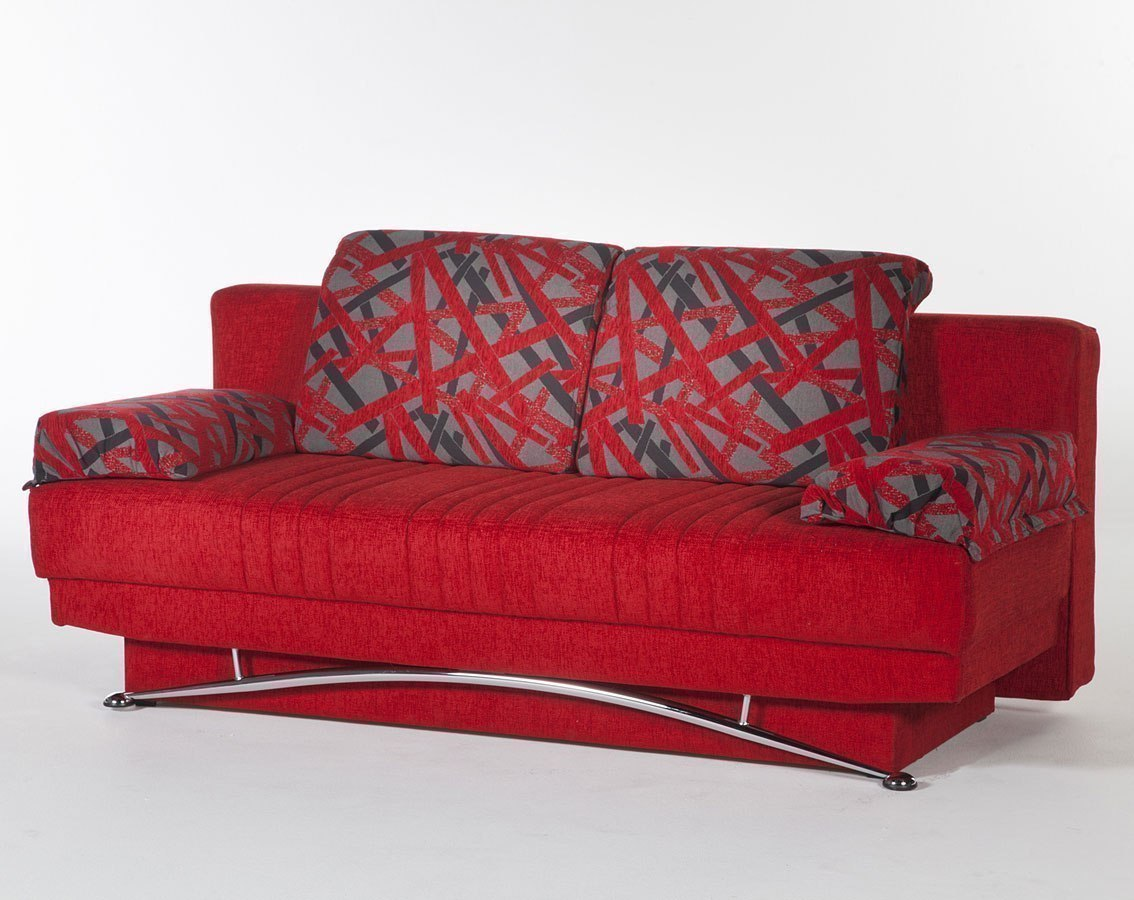 Fantasy 3 Seat Sleeper Story Red Istikbal Furniture