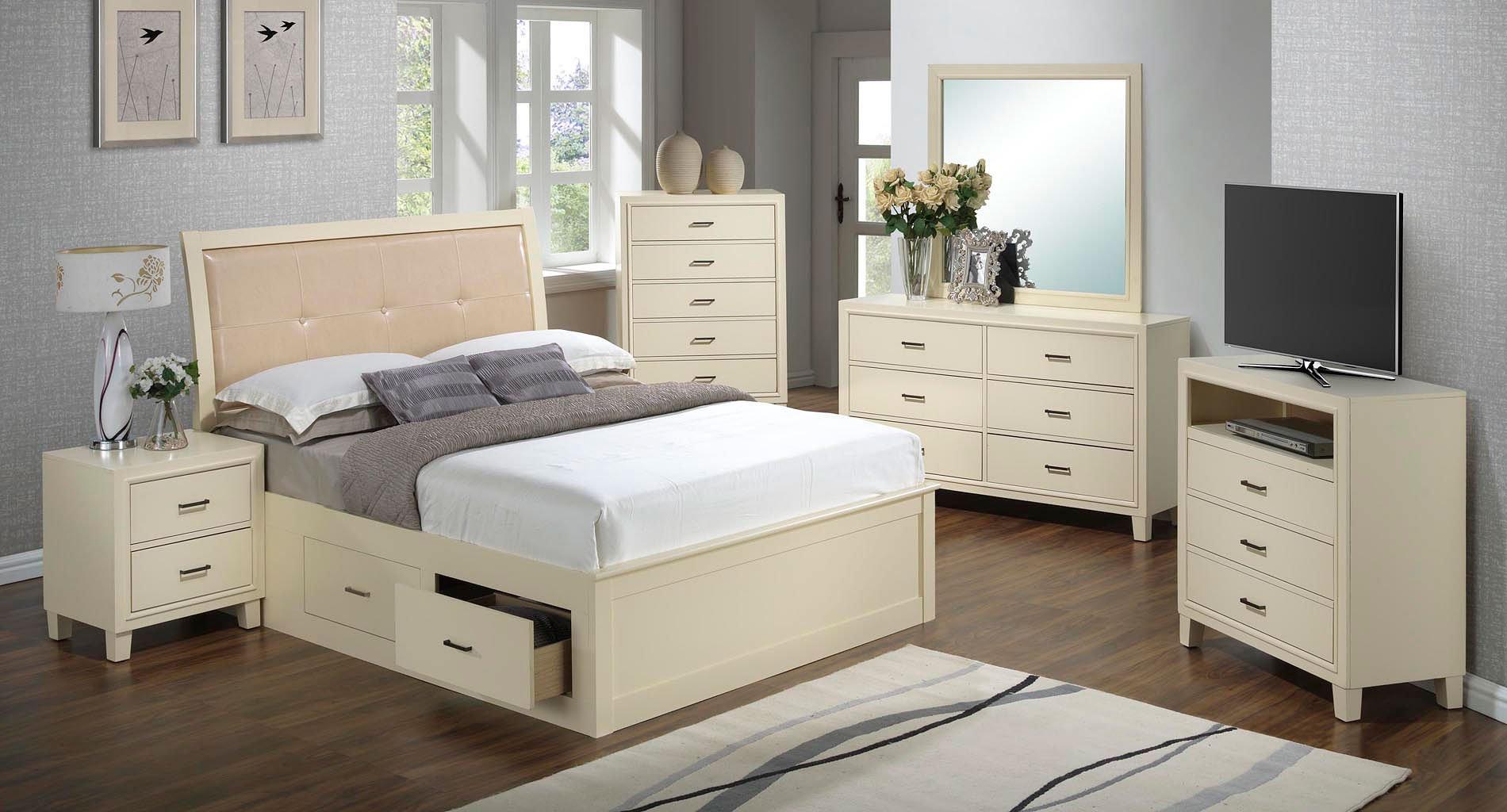G1290 youth storage bedroom set glory furniture - Youth bedroom furniture with storage ...