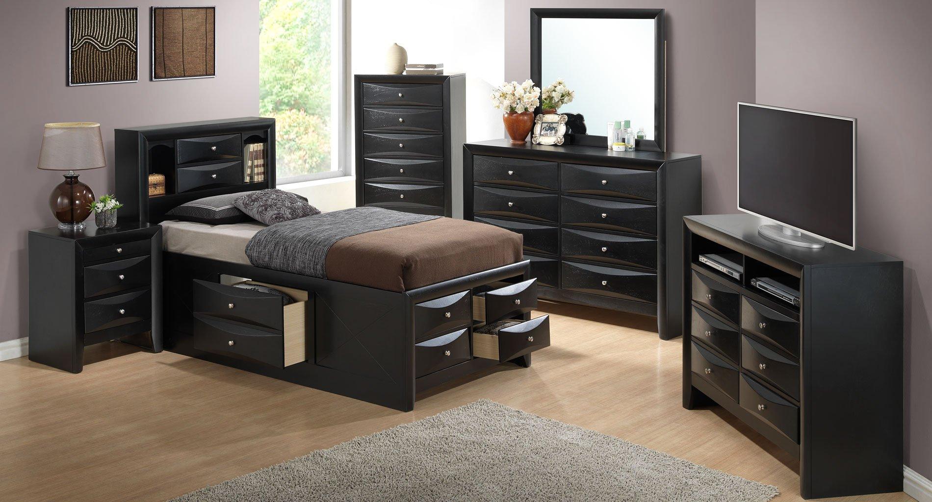 G1500g youth storage bedroom set glory furniture - Youth bedroom furniture with storage ...