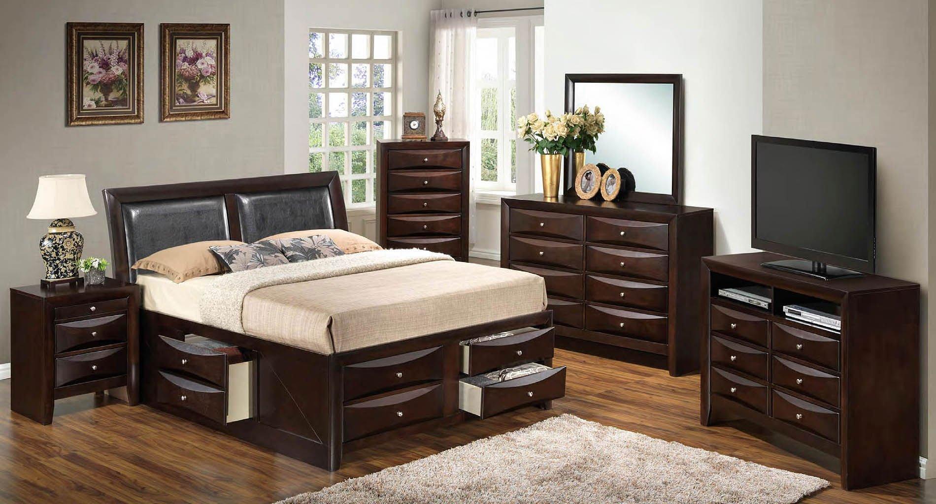 G1525i youth storage bedroom set glory furniture - Youth bedroom furniture with storage ...