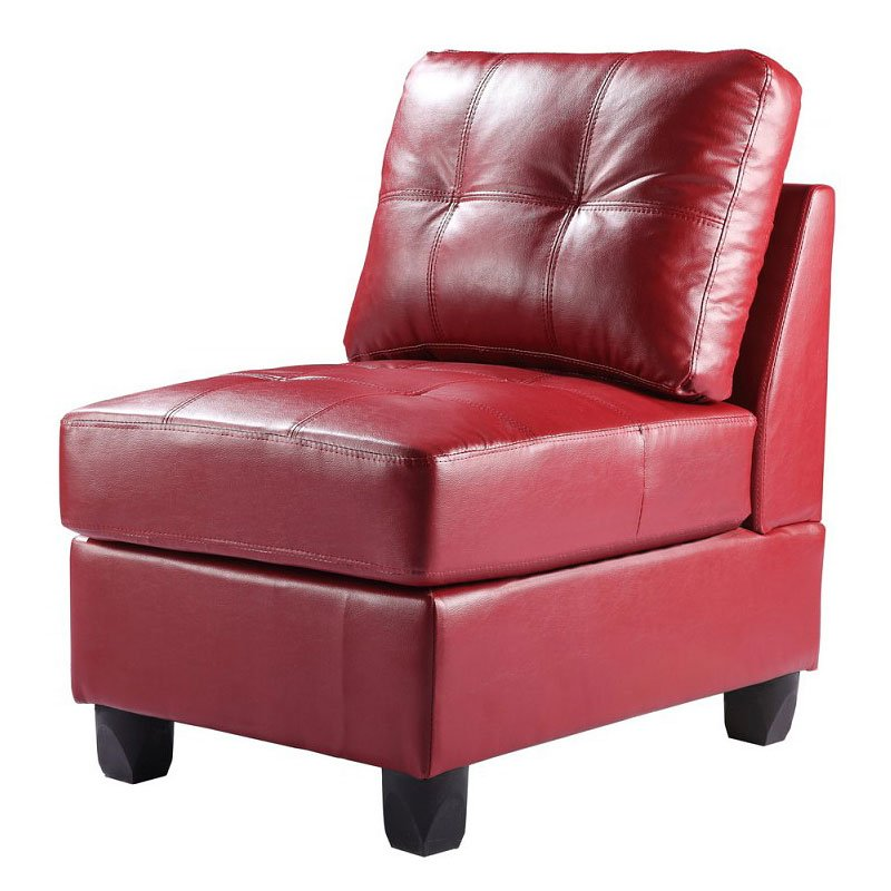 Exceptionnel G209 Armless Chair (Red)