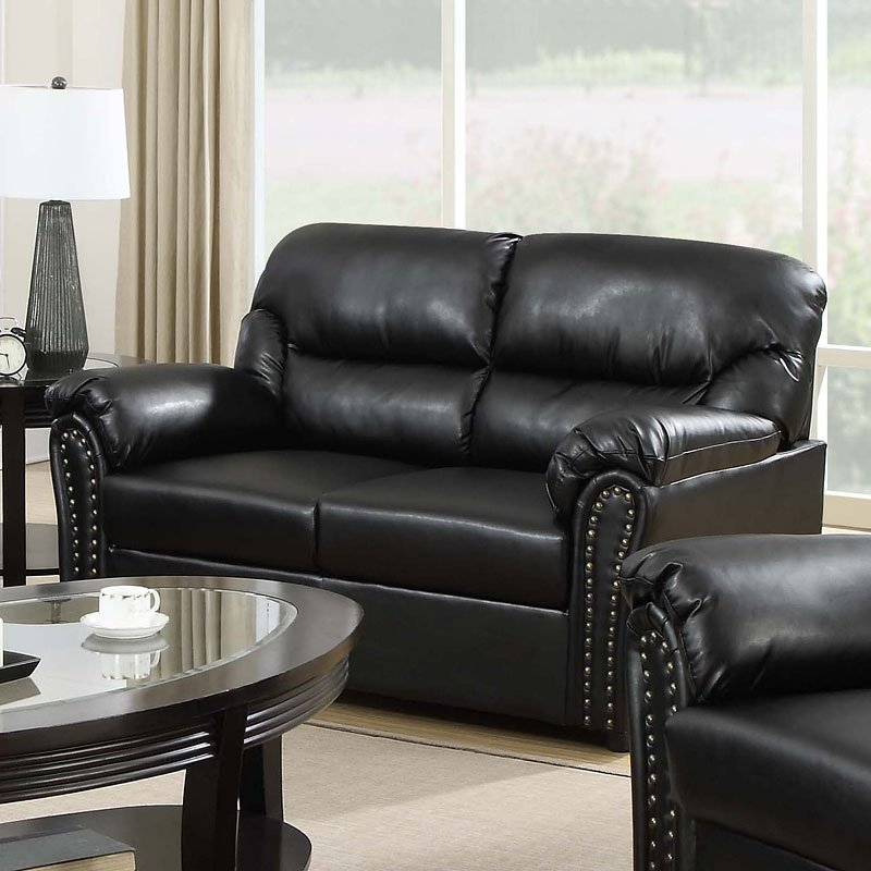 G263 Living Room Set (Black) Glory Furniture