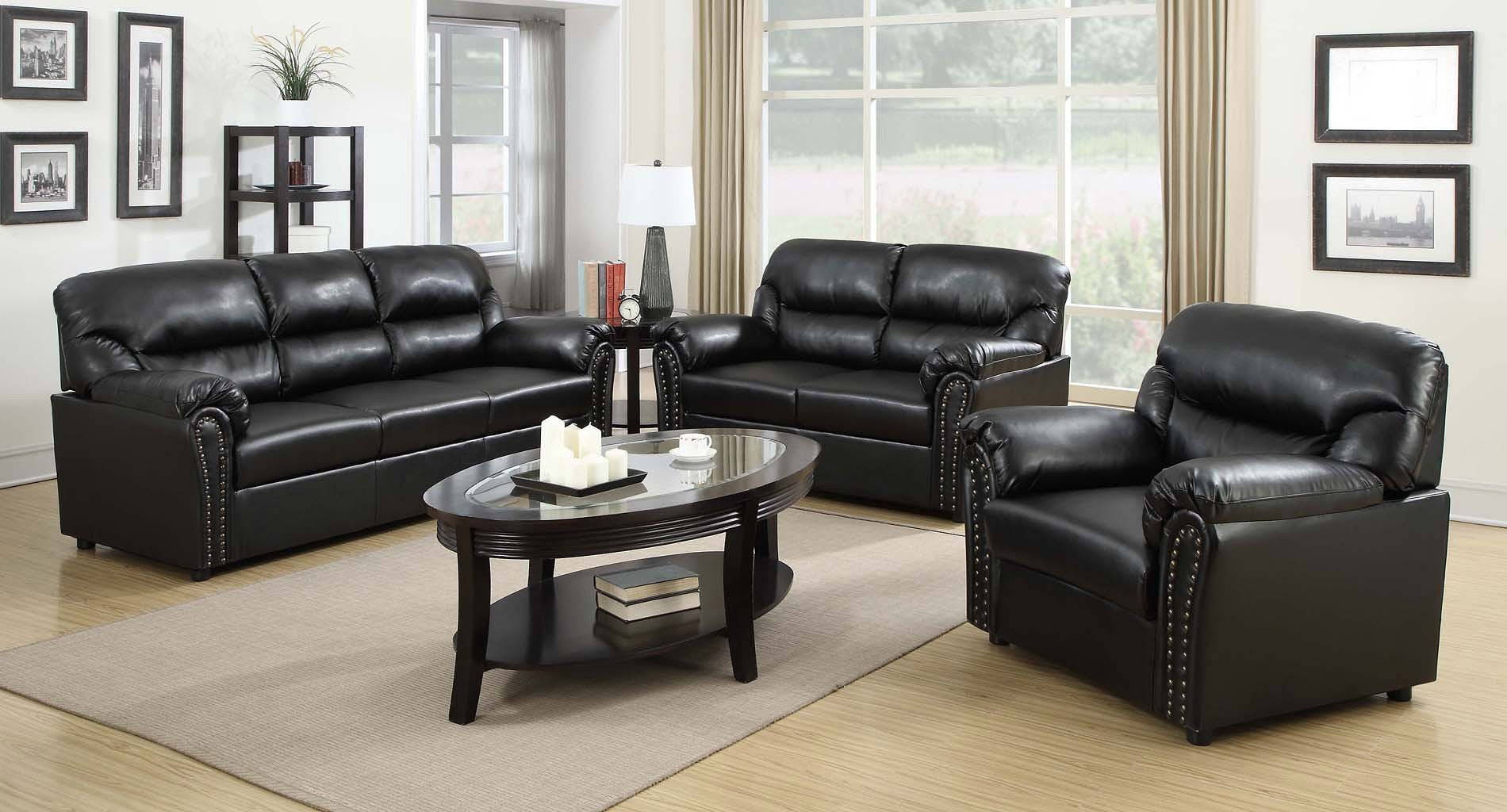 G263 Living Room Set Black Glory Furniture Furniture Cart