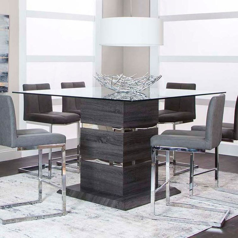 Gamma Counter Height Dining Table Cramco Furniture Cart