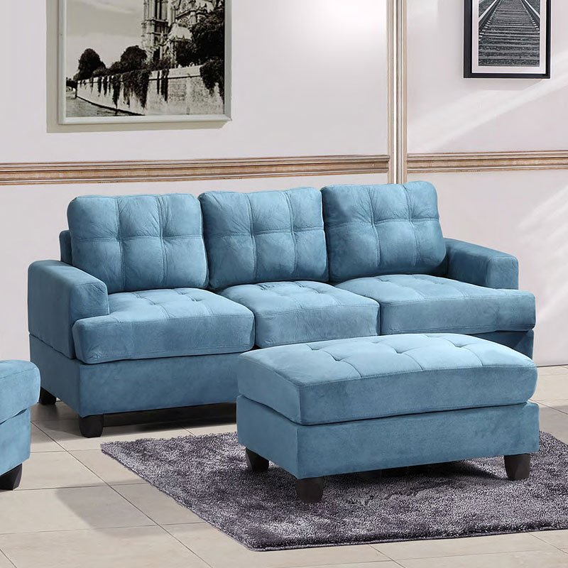 G518 Sofa (Aqua) By Glory Furniture