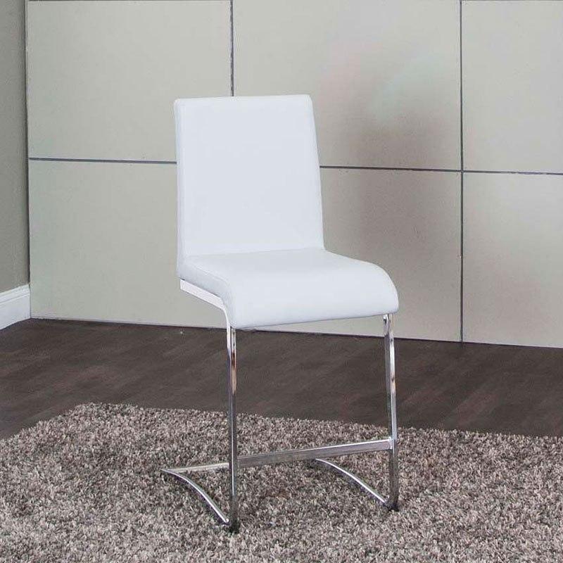 Viva Light Gray 24 Inch Counter Stool Set Of 2 Cramco Furniture Cart