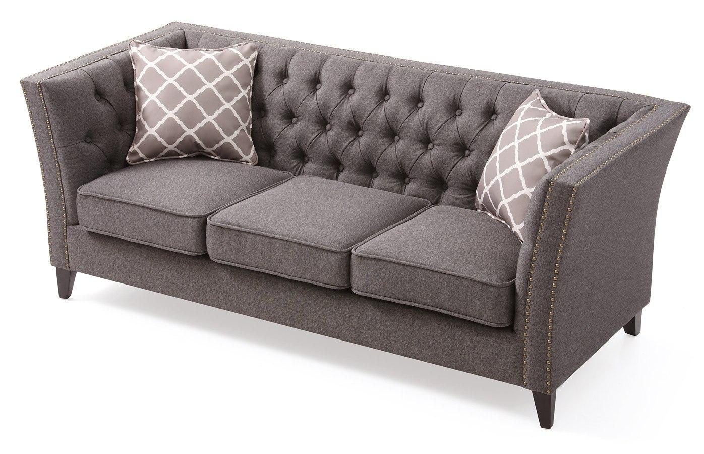 Pleasant Flair Sofa Gray Pabps2019 Chair Design Images Pabps2019Com