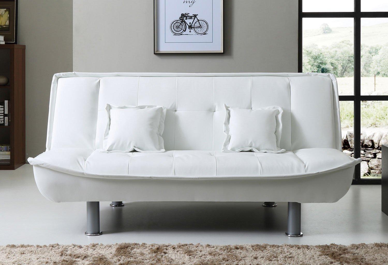 G601 White Sofa Bed Glory Furniture | Furniture Cart