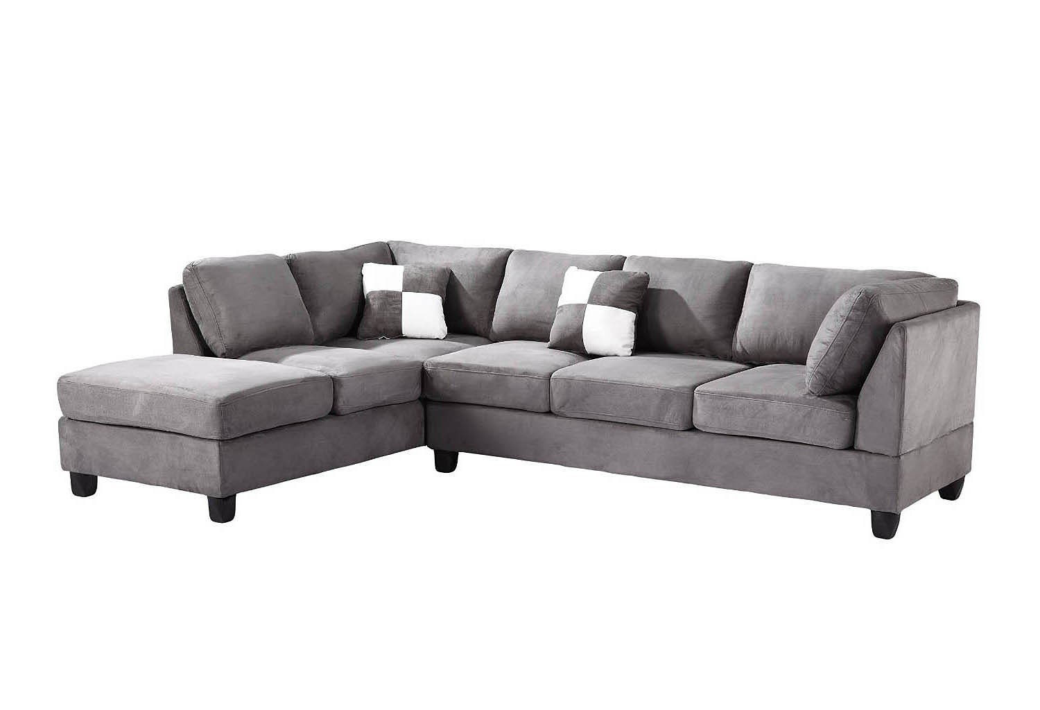 G633 Reversible Sectional (Grey)
