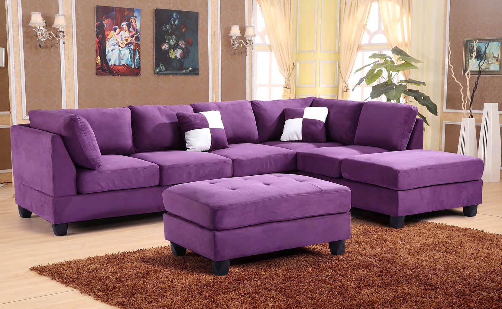 G637 Reversible Sectional Set (Purple)