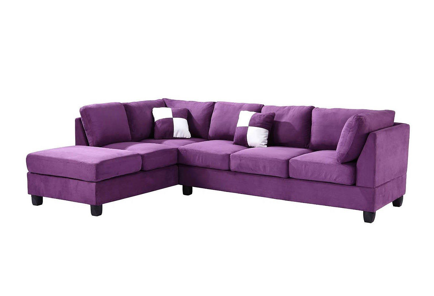 G637 Reversible Sectional (Purple)