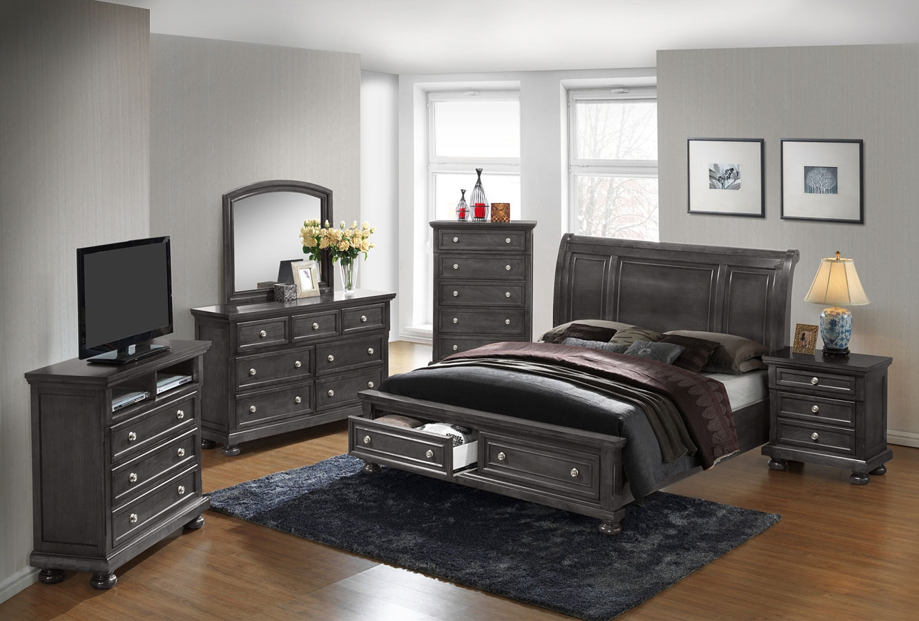 G7015a youth storage bedroom set glory furniture - Youth bedroom furniture with storage ...
