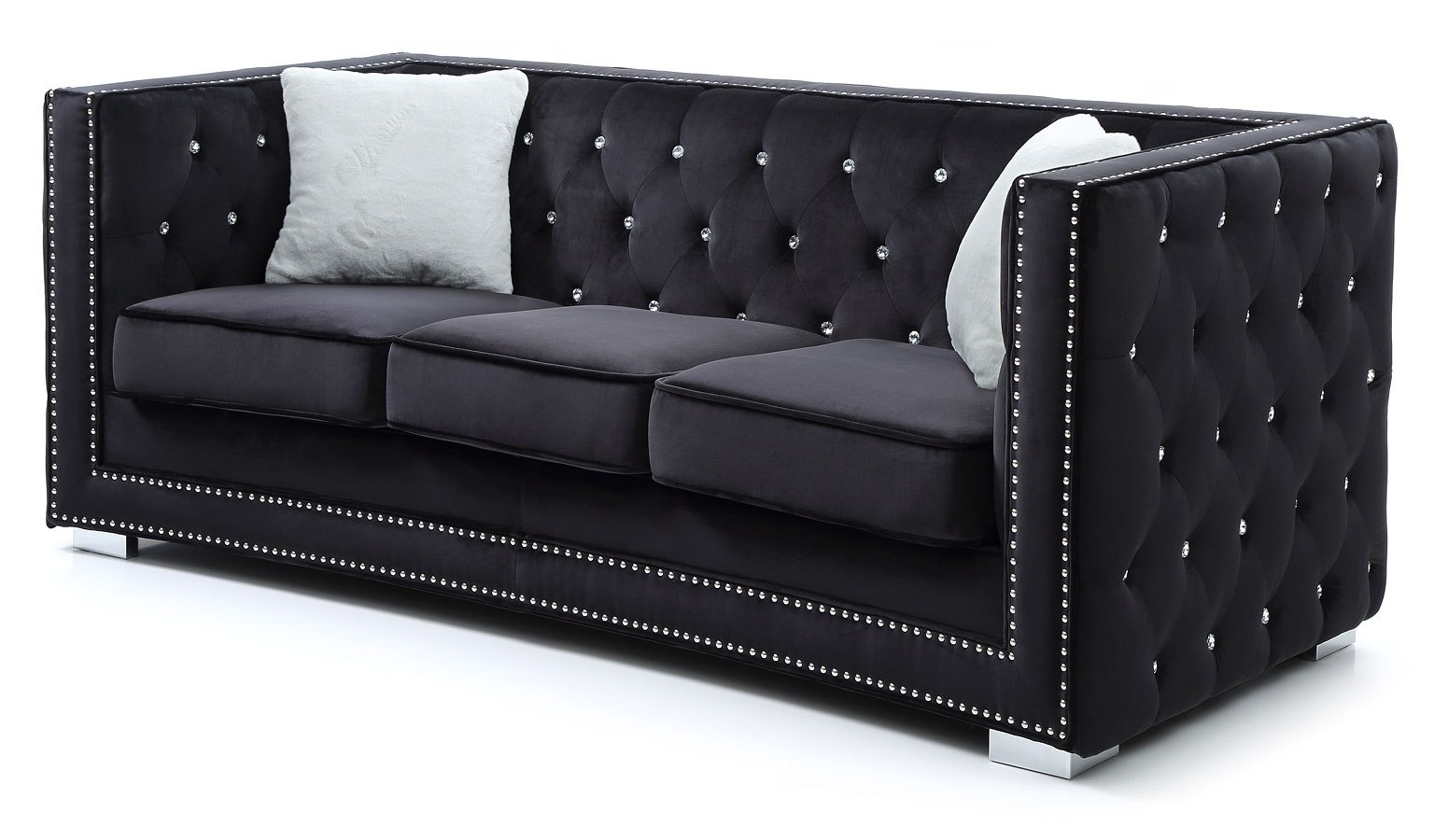 Brilliant Miami Sofa Black Download Free Architecture Designs Scobabritishbridgeorg