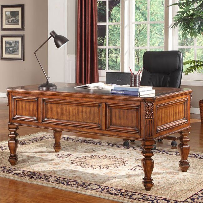 Grand Manor Granada Writing Desk Parker House Furniture Cart