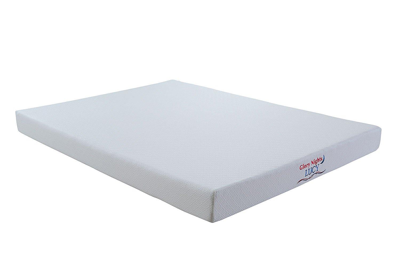 Lucy 6 Inch Memory Foam Mattress Glory Furniture Furniture Cart