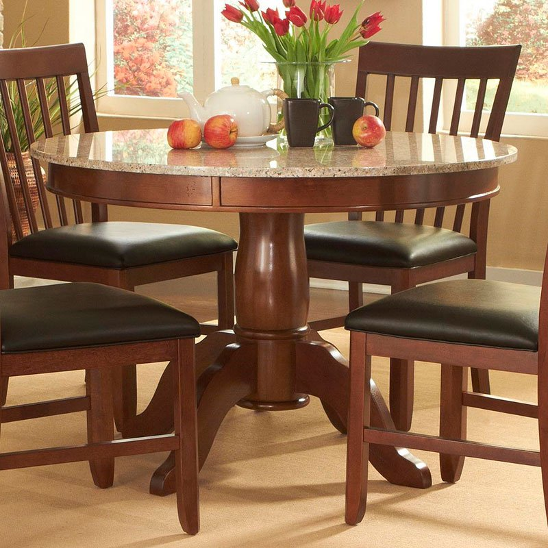 Granite Round Dining Table