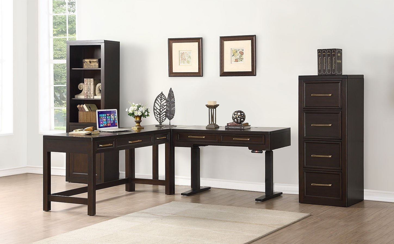 Modular Home Office Furniture Designs Ideas Plans: Greenwich Modular Home Office Set W/ 60 Inch Desk Parker