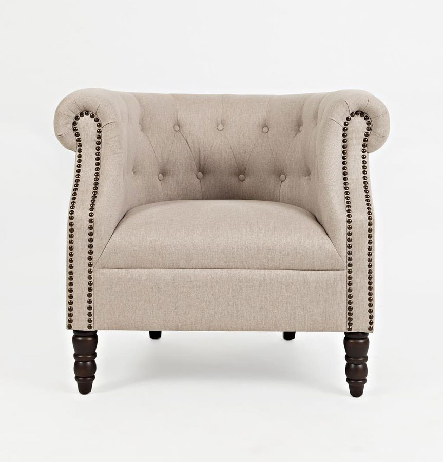 Taupe Accent Chairs.Grace Accent Chair Taupe