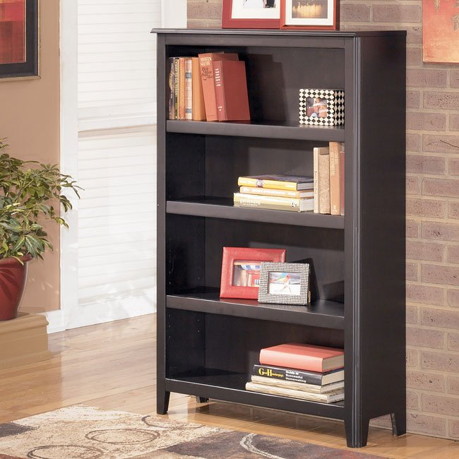 Carlyle Medium Bookcase Signature Design Furniture Cart