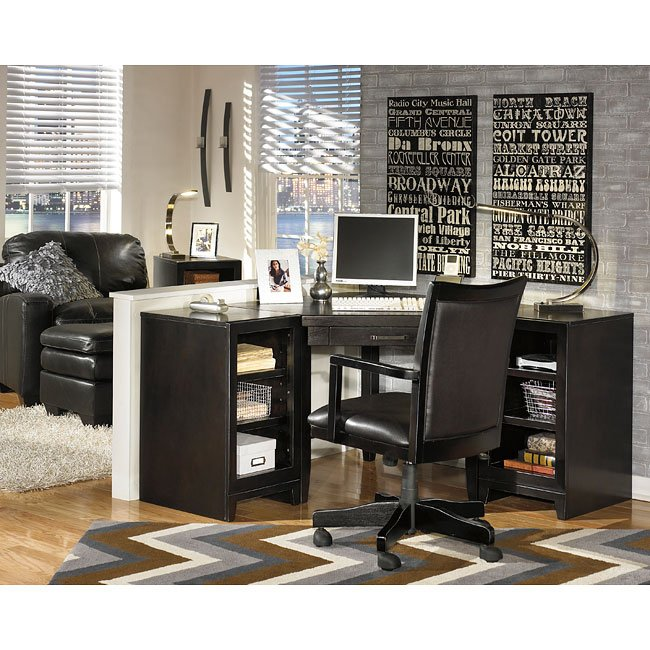 Trishelle Corner Home Office Set