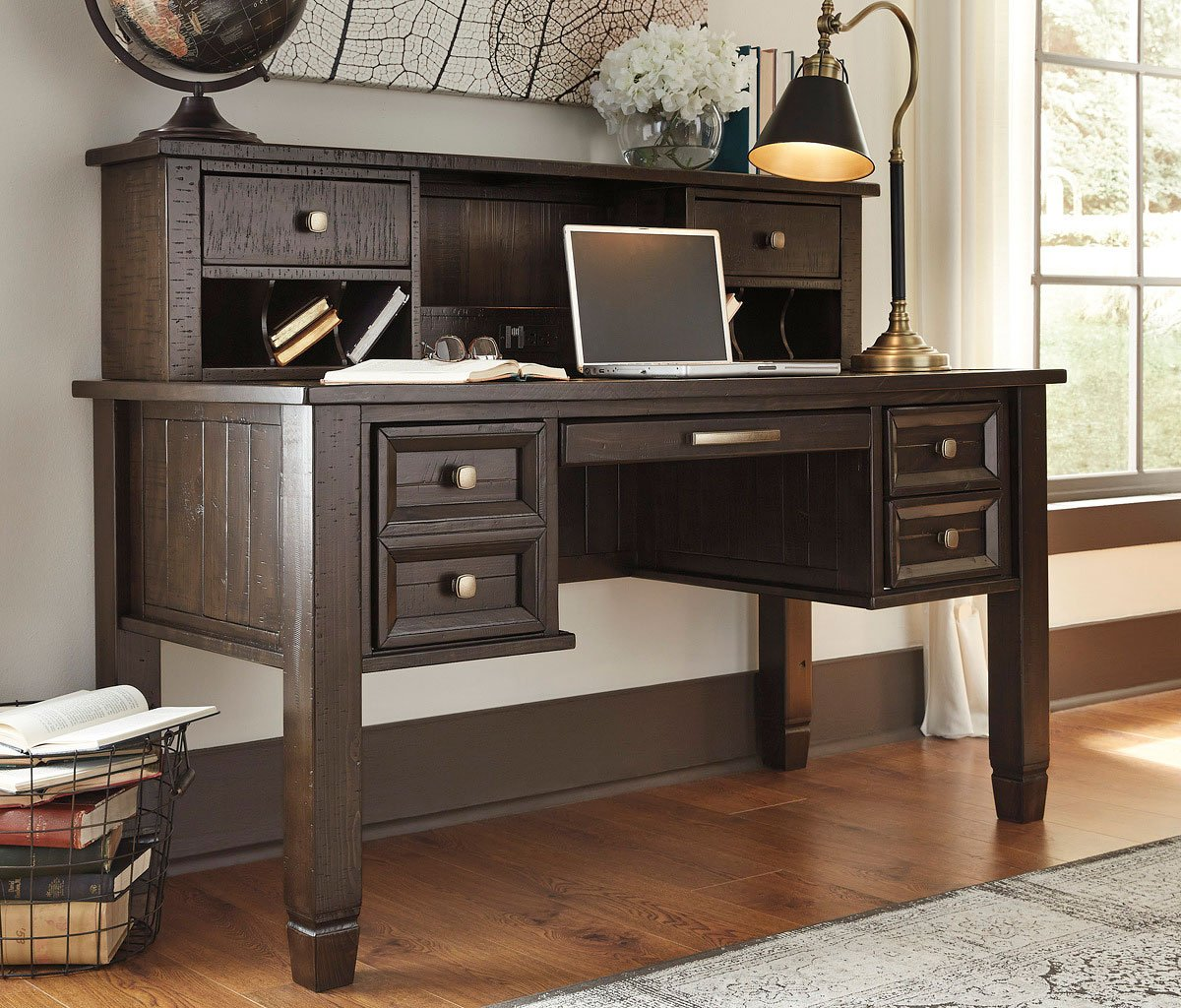 Furniture For A Best Home Office: Townser Home Office Set Signature Design