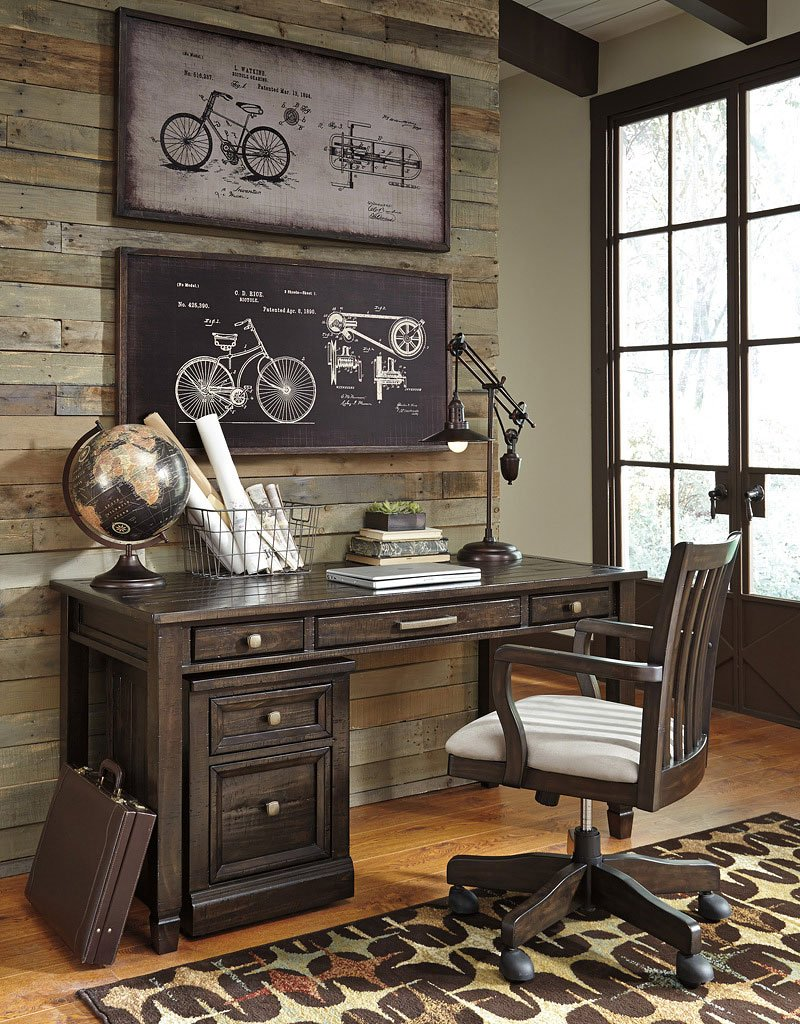 Townser Home Office Set W/ Parsons Desk