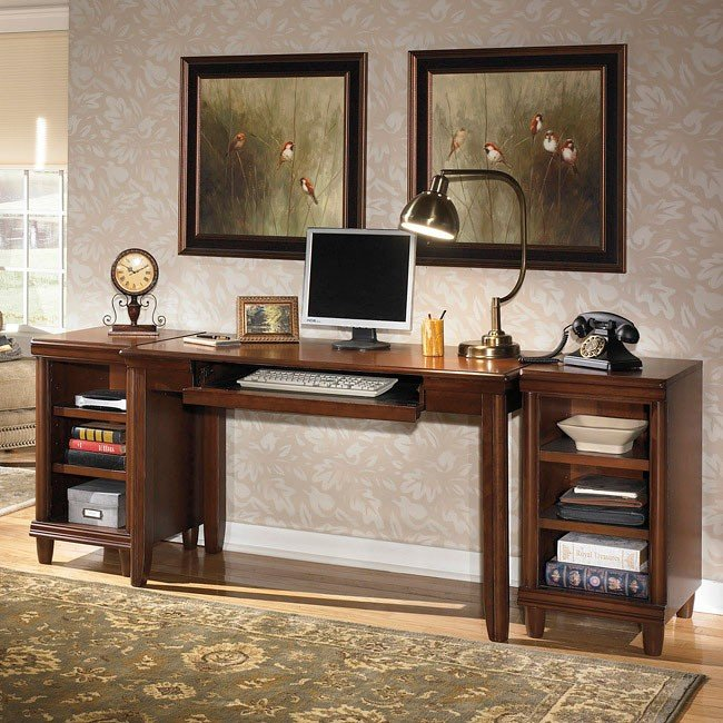 Daleena Leg Desk w/ Two Bases