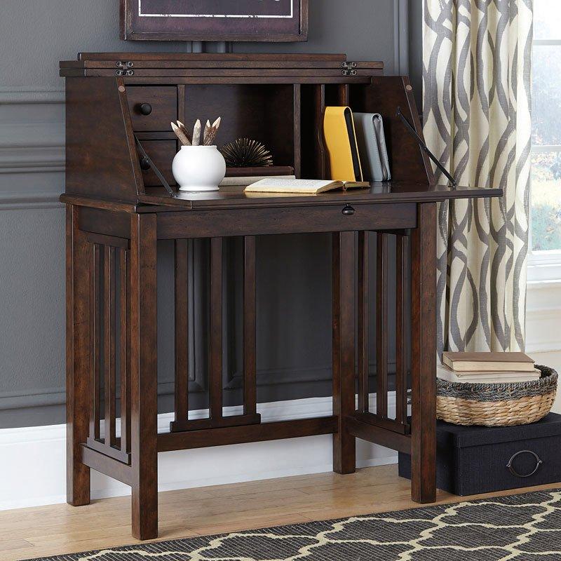 Drop Front Desk >> Harpan Home Office Drop Front Desk