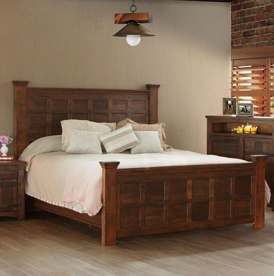 Mezcal Panel Bed Ifd Furniture Furniture Cart