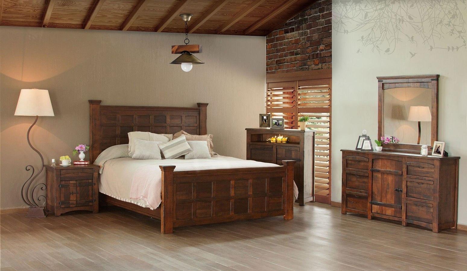 Mezcal Panel Bedroom Set Ifd Furniture Furniture Cart