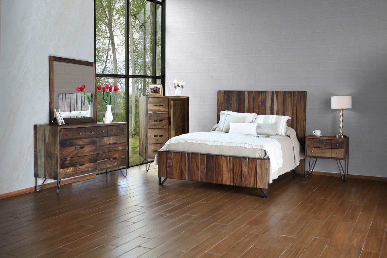 Taos Panel Bedroom Set Ifd Furniture Furniture Cart