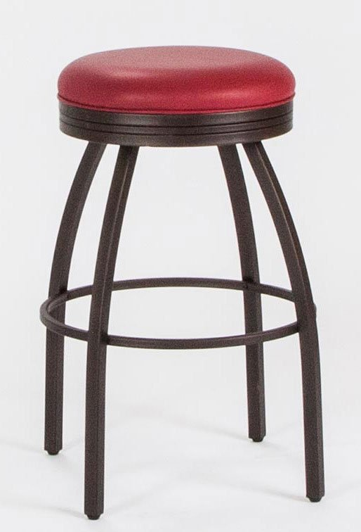 30 Inch Swivel Barstool Red Cramco Furniture Cart