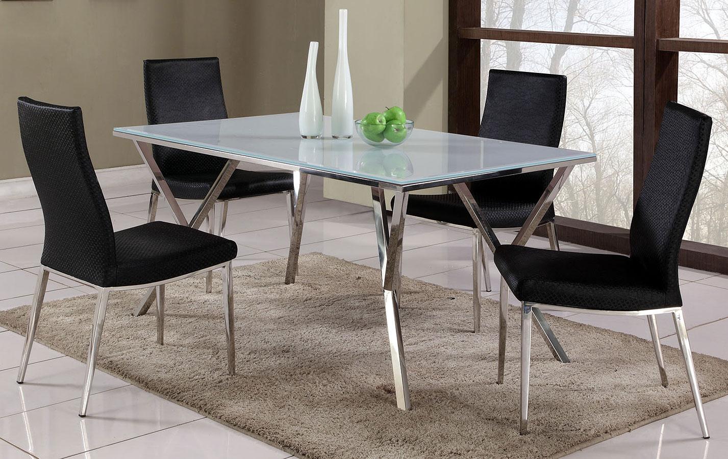 Jade Dining Room Set W Jamila Chairs