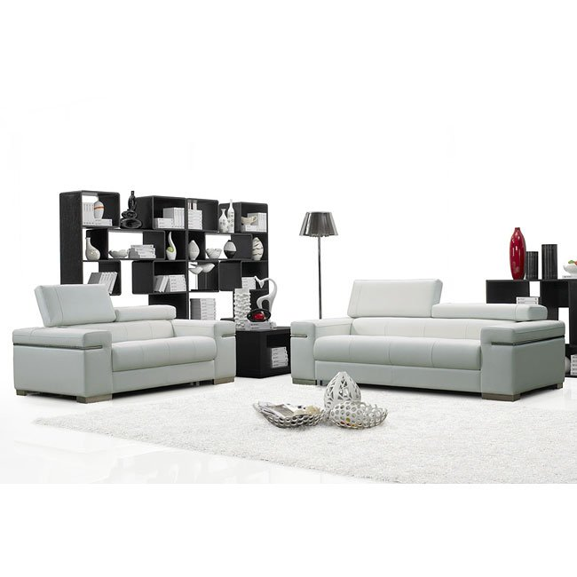 Soho Italian Leather Living Room Set