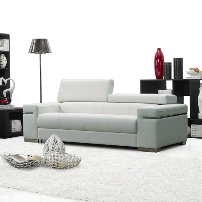 Italian Living Room Furniture Sets: Soho Italian Leather Living Room Set JM Furniture, 4