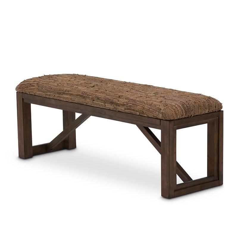 Carrollton Bench Aico Furniture | Furniture Cart