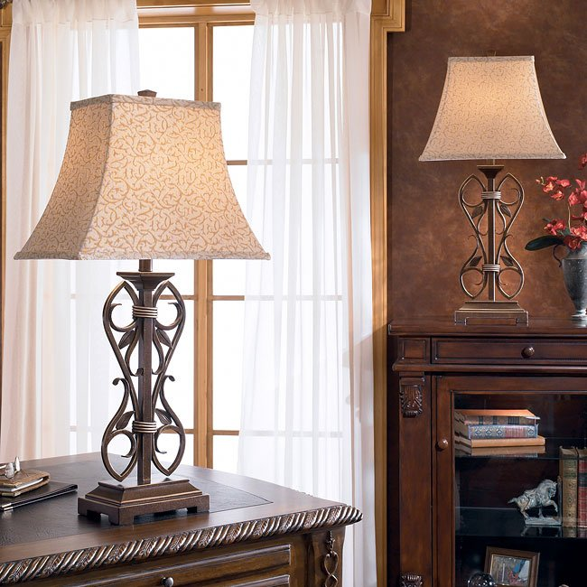 Nathania Table Lamp (Set of 2)