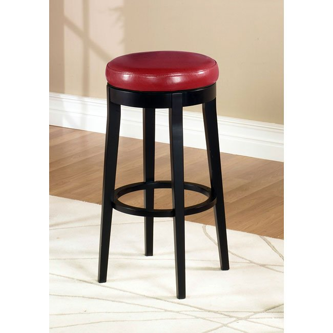 Mbs 450 30 Inch Backless Swivel Barstool Red
