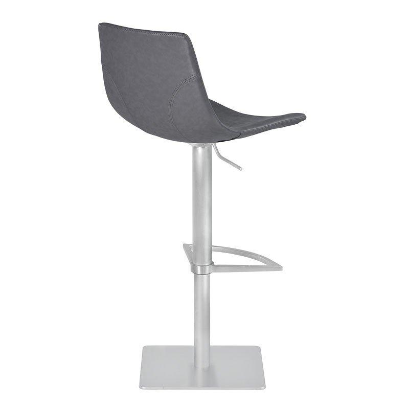 Fantastic Attica Adjustable Swivel Metal Barstool Vintage Gray Lamtechconsult Wood Chair Design Ideas Lamtechconsultcom