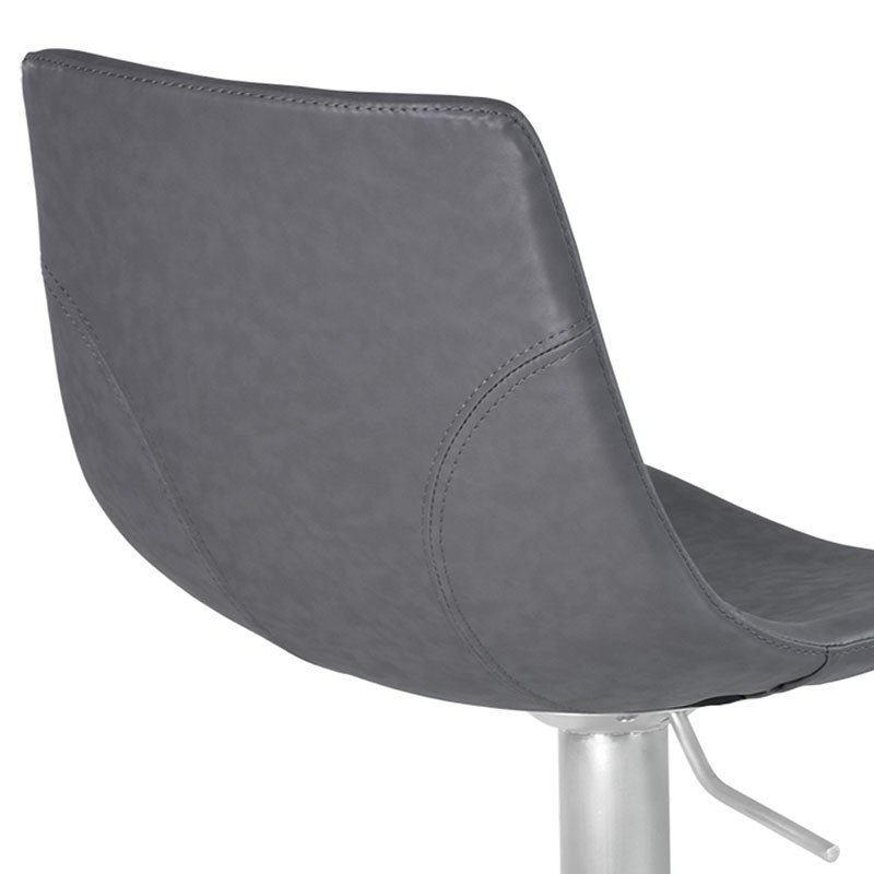 Excellent Attica Adjustable Swivel Metal Barstool Vintage Gray Lamtechconsult Wood Chair Design Ideas Lamtechconsultcom