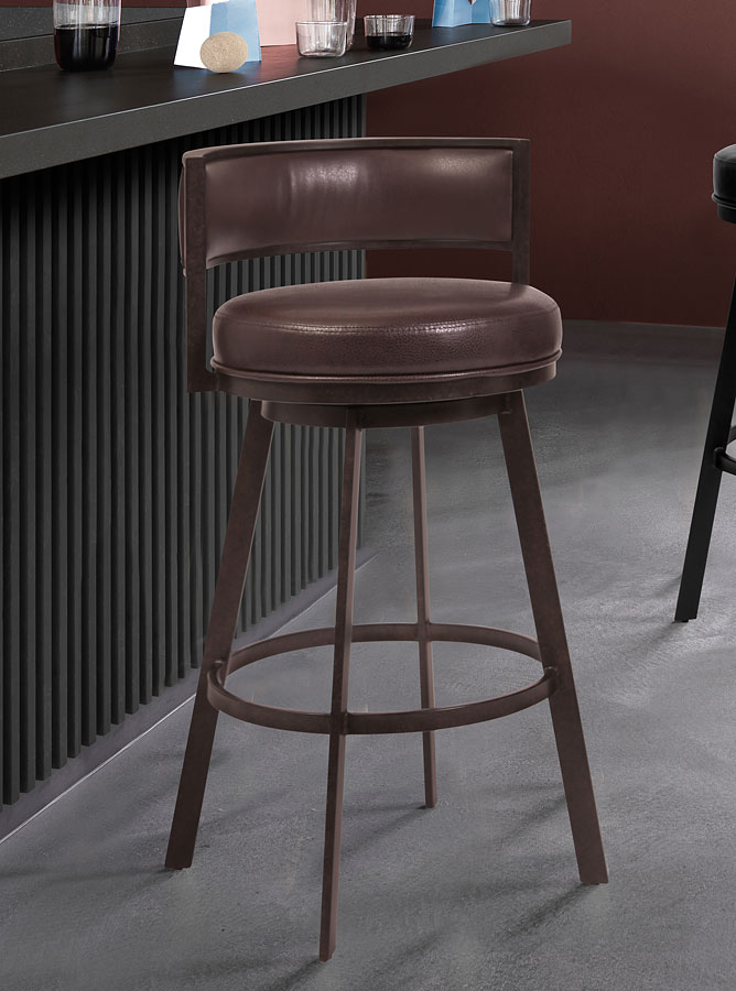 Pleasing Chateau Counter Height Chair Brown Inzonedesignstudio Interior Chair Design Inzonedesignstudiocom