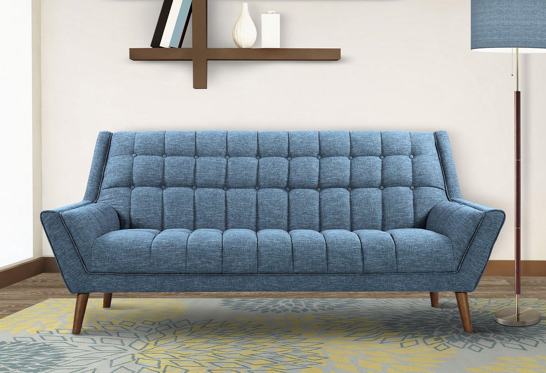 Cobra Sofa (Blue) By Armen Living