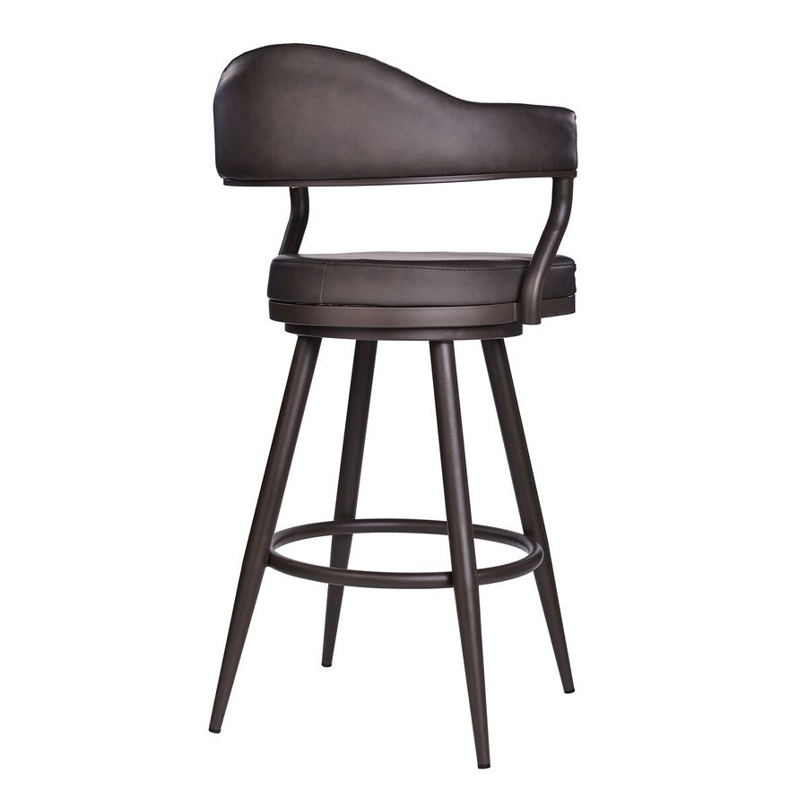 Justin Counter Height Stool Armen Living Furniture Cart